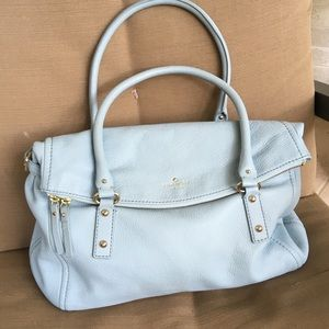 Kate Spade Cobble Hill Leslie Bag in Baby Blue